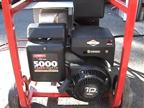 Emergency Power Provided By My Generac Generator With A 10