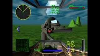MechWarrior 2: 31st Century Combat - Gameplay PSX (PS One) HD 720P (Playstation classics)