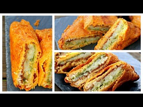 Bread Pakora | Aloo Bread Pakoda | Evening Snack |  Indian Street Food