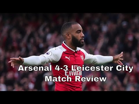 Arsenal 4-3 Leicester City | Match Review 💥AFTV Young Gunz💥