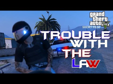TROUBLE WITH THE LAW | GTA V SHORT FILM | CINEMATIC (R* EDITOR)