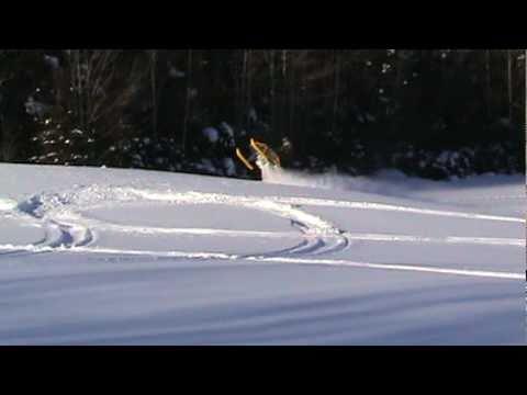 Ski Doo REV MXZ X-RS 800 H.O. PTEK 2007 Rips !