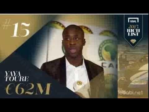 Les 20 plus riches footballeurs de la planète en 2015