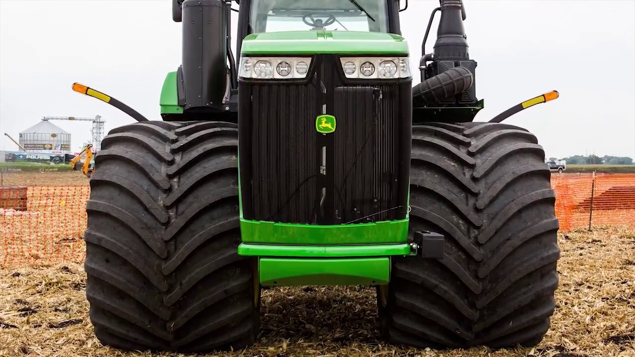 Titan introduces world 39 s largest ag tire youtube for Big tractor tires for free