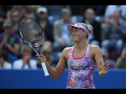 2016 Aegon Classic Second Round | Yanina Wickmayer vs Johanna Konta | WTA Highlights