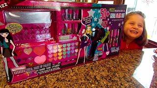 pink fizz mega glam makeup set starry nights collection