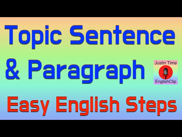 writing a paragraph lessons teach 5