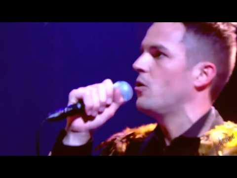 THE KILLERS - HUMAN (Live on Jonathan Ross 2008)