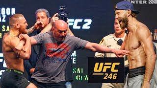 СРОЧНО! РЕАКЦИЯ БОЙЦОВ НА БОЙ КОНОРА МАКГРЕГОРА И ДОНАЛЬДА СЕРРОНЕ НА UFC 246 В ВЕГАСЕ!