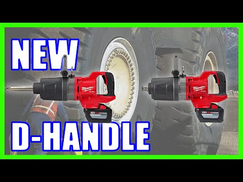 NEW Milwaukee D-Handle Impact Wrench [FIRST EVER]