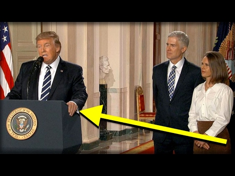Thumbnail: 99% OF AMERICANS DIDN'T SEE THE SECRET THING TRUMP DID WHEN HE ANNOUNCED HIS SUPREME COURT PICK!