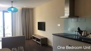 Tham quan căn 1 phòng ngủ THE PEARL HOI AN Lh: 0376707371