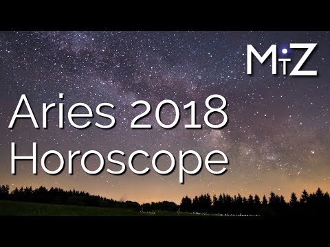 Aries 2018 Yearly Horoscope True Sidereal Astrology Youtube
