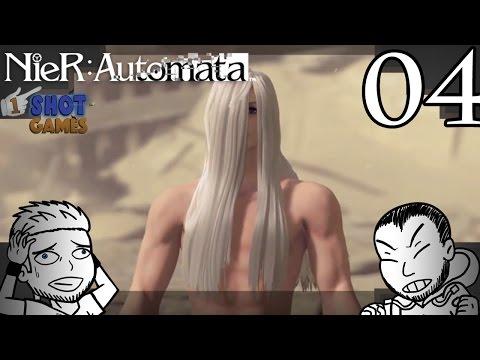1ShotPlays - NieR Automata Part 4 - High Heels In The Desert!?