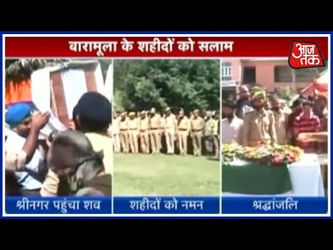Martyred Jawan Prithvi Pal Singh's Body Brought To Srinagar, Soldiers Paid Last Respect