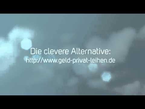 Die clevere Alternative: www.geld-privat-leihen.de