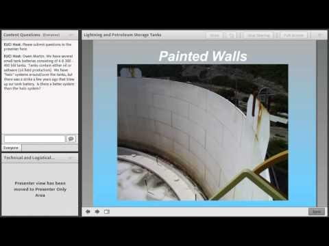 Lightning Protection for Storage Tanks - EUCI June 2012