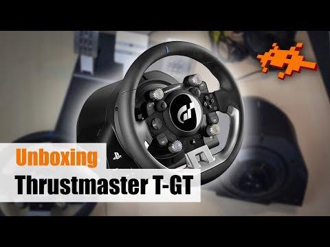 Unboxing Thrustmaster T-GT [Gran Turismo Lenkrad, PS4, Deutsch]