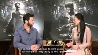 Ngô Thanh Vân interview Hugh Jackman