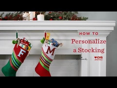 Cvs Hours Christmas Eve.How To Create And Personalize A Diy Stocking Hallmark Holiday Inspiration Cvs Pharmacy