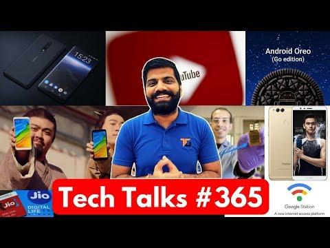 Tech Talks #365 - Honor 7x, Redmi 5 Plus, Samsung 512GB, Jio Phone Assistant, Android Oreo Go