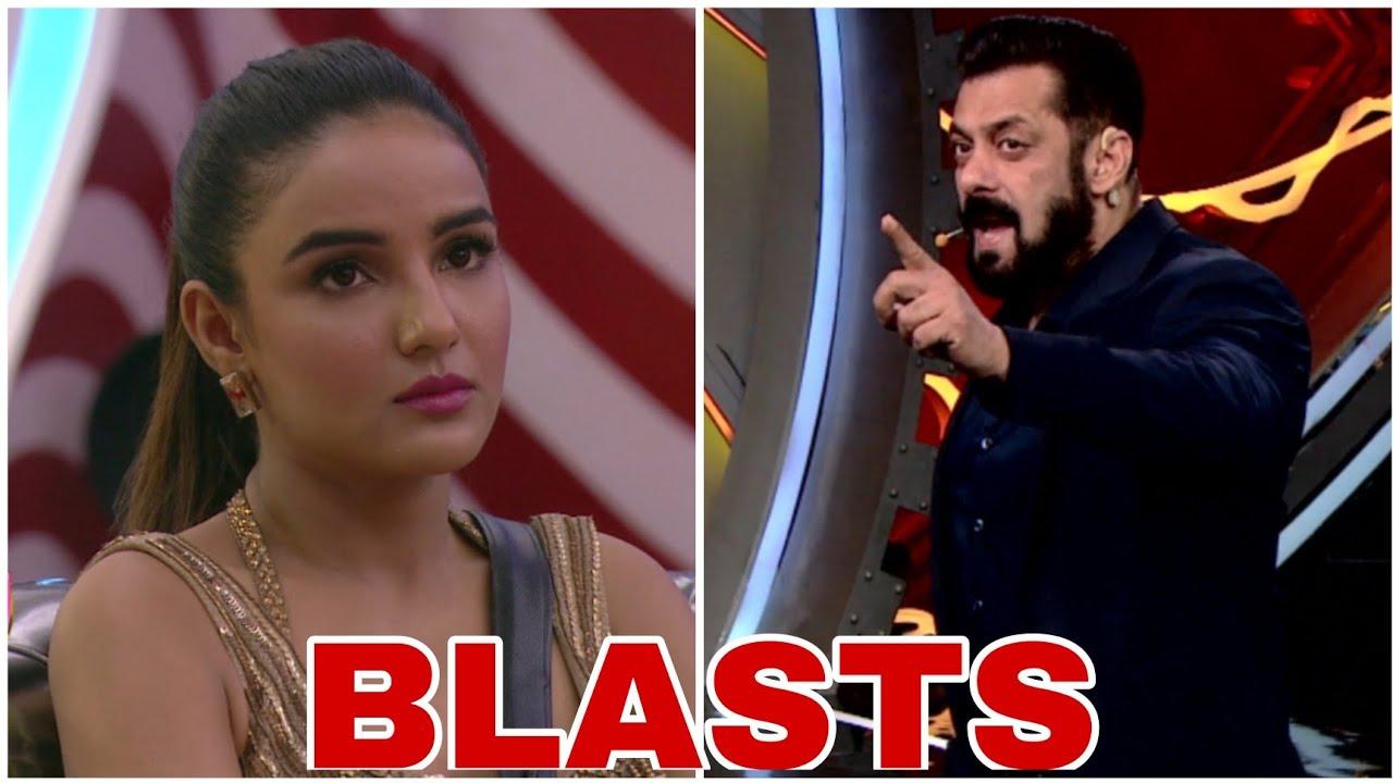 Download Bigg Boss 14 Weekend Ka Vaar: Salman Khan BLASTS Jasmin Bhasin over her argument with Rakhi Sawant