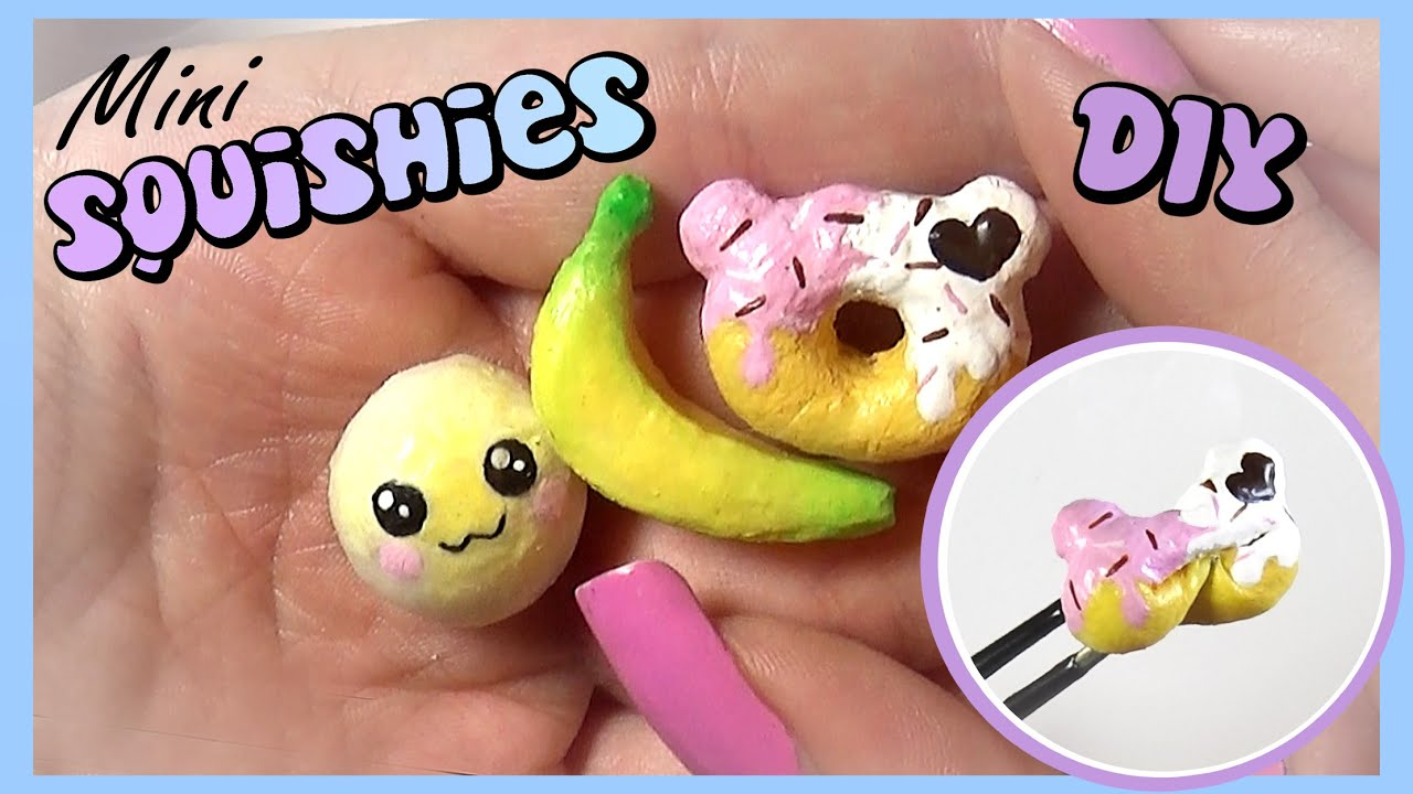 easy squishy tutorial      miniature diy