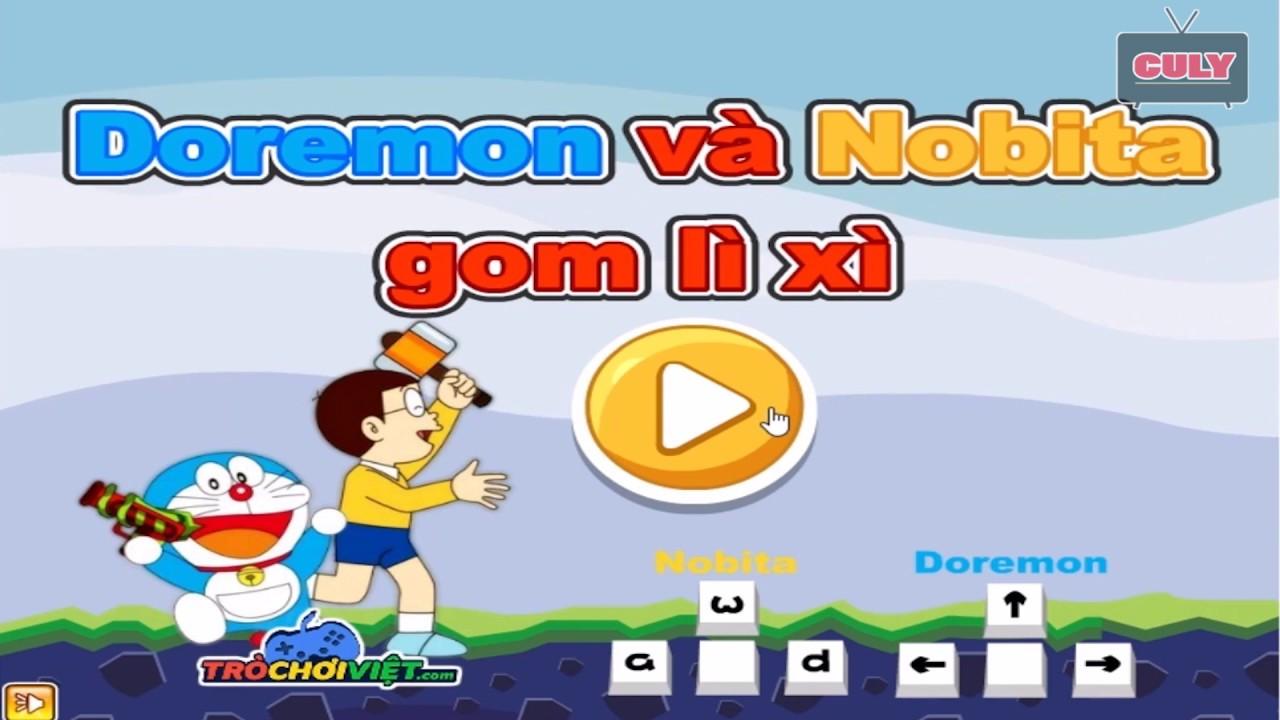 Trò chơi Doremon và Nobita gom bao lì xì   cu lỳ chơi game lống tiếng vui nhộn funny gameplay