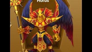 summoners war new horus review build runes full stats