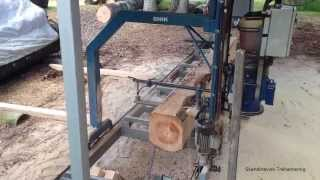 Snik Chainsaw Mill Video 1