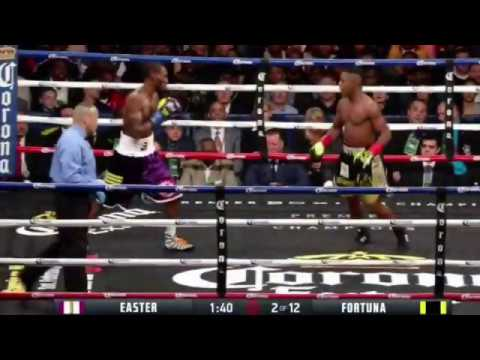 ROBERT EASTER JR VS JAVIER FORTUNA FULL FIGHT REVIEW