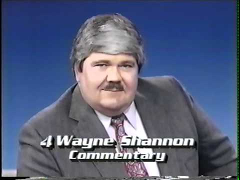 Wayne Shannon -- Three KRON Commentaries