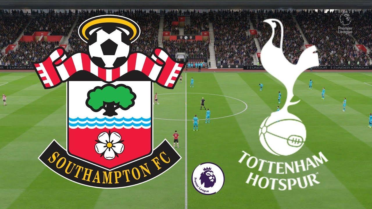 Premier League 2019/20 - Southampton Vs Tottenham - 01/01/20 - FIFA 20 -  YouTube