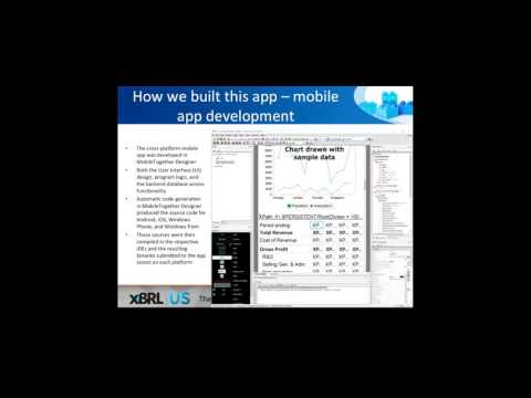 Analyzing Public Company XBRL Financials – Mobile Apps & Other Tools