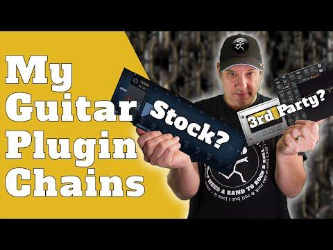 My Electric Guitar Plugin Chain | Best Guitar Mixing Plugins Part 1