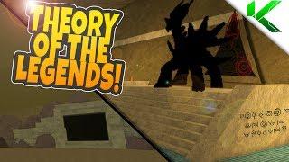 THEORY OF THE LEGENDS! DIALGA, PALKIA & GIRATINA! - Pokemon Brick Bronze