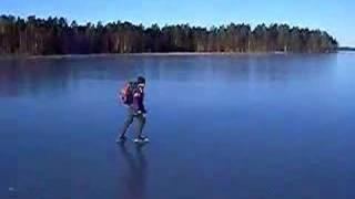 Storsjön Gästrikland 20 jan-08