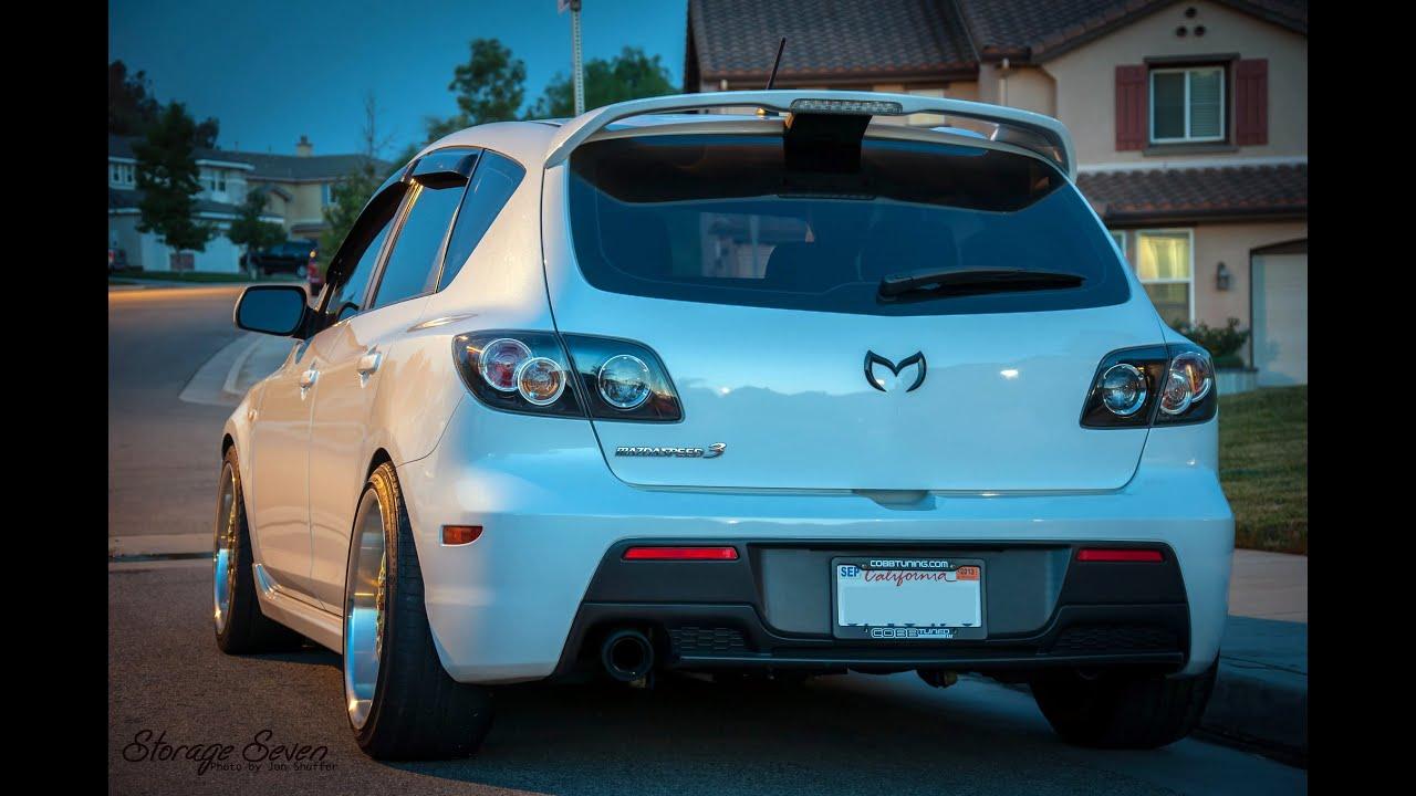 Brutal MazdaSpeed 3 exhaust sound pilation