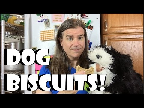 3 Ingredient Recipes: Dog Biscuits & Oatmeal Cookies (Vegan)