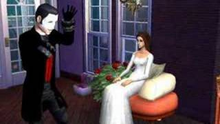 Sims 2 and strange Phantom of the Opera.