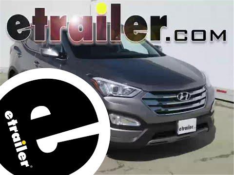Installation Of A Trailer Wiring Harness On A 2014 Hyundai Santa Fe - Etrailer.com