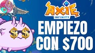 AXIE INFINITY / EQUIPO COMPETITIVO Y BARATO