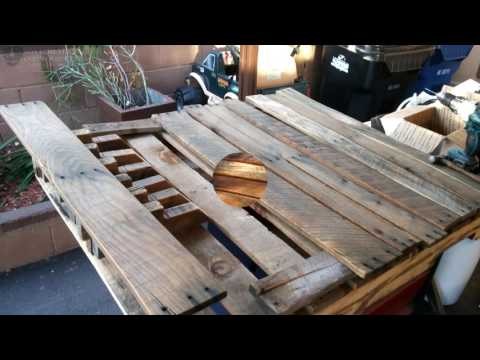 DIY Pallet Book Shelf's From Old Pallets - Reclaimed Wood