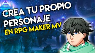 Tutorial RPG maker MV | como crear personajes