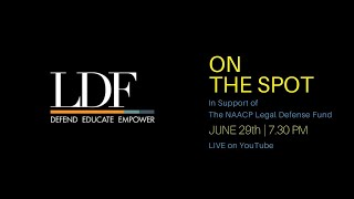 On The Spot LIVE: In Support of the NAACP