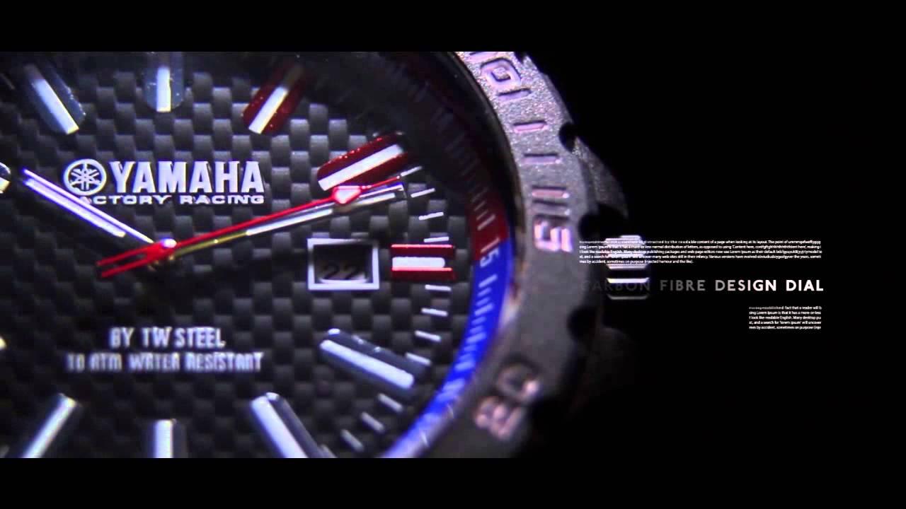 TW Steel Unveils Brand New Yamaha Factory Racing Line-Up - YouTube