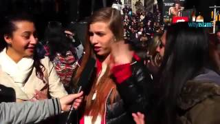 New Yorkers tell us about Islam Muslims Jihad Hijab Jesus and God Thumbnail