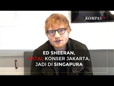 Ed Sheeran Batal Konser di Indonesia, Jadi di Singapura Mp3