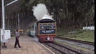 Whisteling Steam & Honking Diesel Locomotives @ KETTI Nilgiri Mountain Railway