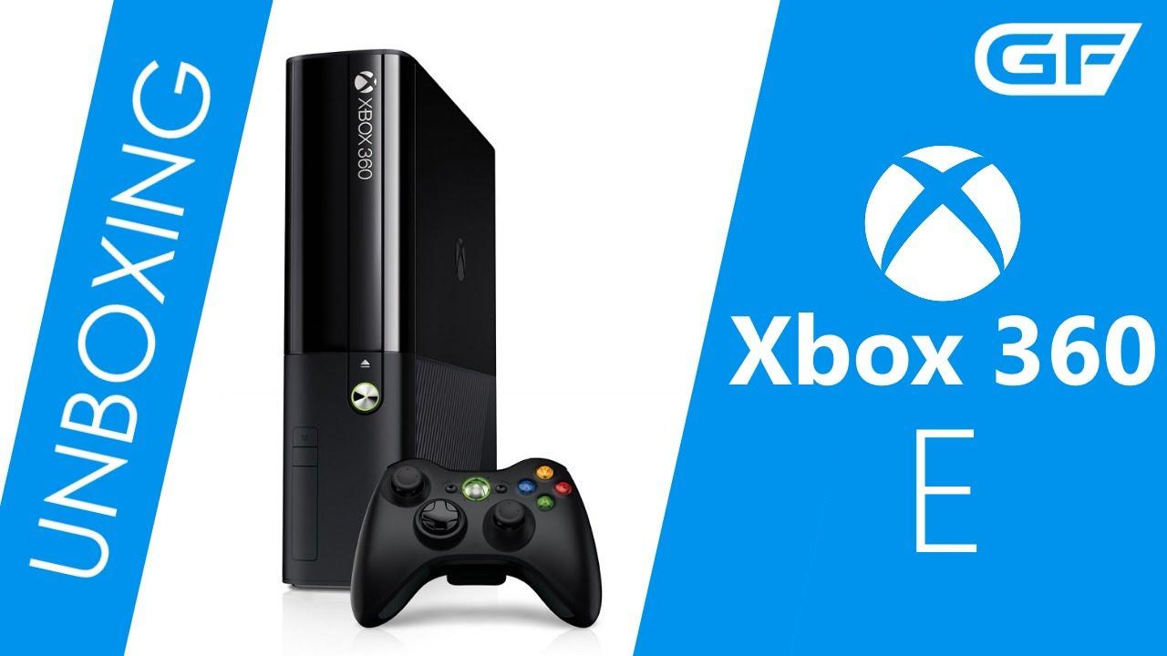 Unboxing - Xbox 360 E Konsole im Xbox One Design - YouTube
